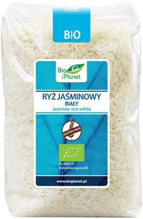 Bio Planet Ryż Jaśminowy Biały  Bezglutenowy BIO