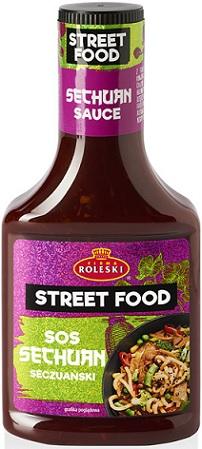 Roleski Street Food Sos Sechuan seczuański