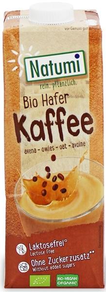 Natumi Napój owsiany o smaku kawy bez dodatku cukrów BIO