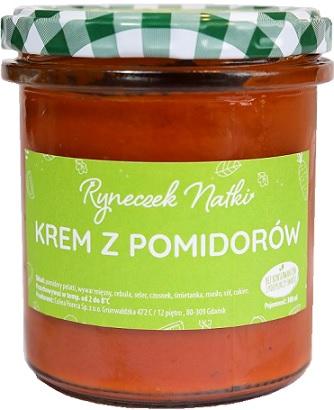 Ryneczek Natki zupa krem  z pomidorów