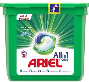 Ariel All in 1 Pods Mountain Kapsułki do prania