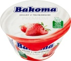 Bakoma Premium jogurt truskawkowy
