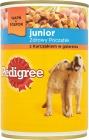 Pedigree Junior jedzenie