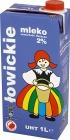 Łowickie mleko UHT 2% tłuszczu