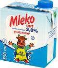 SM Gostyń mleko UHT 2% tłuszczu