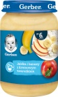 Gerber deser  jabłka i banany