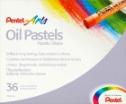 Pentel Pastele olejne 36 kolorów