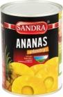 Sandra Ananas w plastrach w lekkim