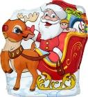 Figaro Mikołaj z reniferem