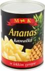 MK Ananas kawałki w lekkim