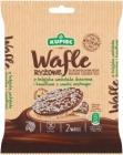 Kupiec Wafle ryżowe z czekoladą