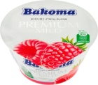 Bakoma Premium Jogurt z malinami