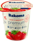 Bakoma Premium Jogurt z truskawkami