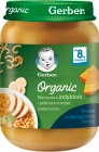 Gerber Organic Warzywa z indykiem i