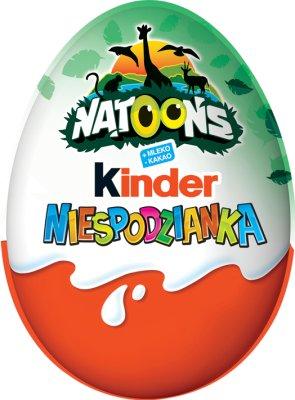 Kinder Niespodzianka czekoladowe jajko  dla dziewczynek