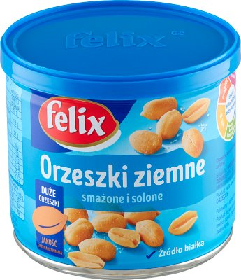 Felix orzeszki ziemne w puszce solone