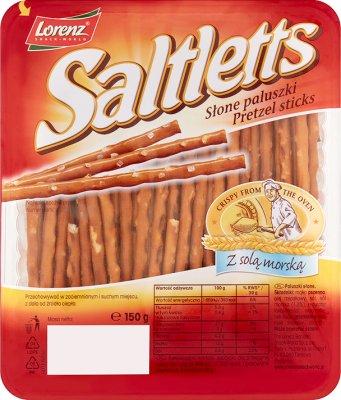 Saltletts bâtons 150g
