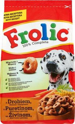Frolic Karma pełnoporcjowa  dla dorosłych psów z drobiem,warzywami i zbożami