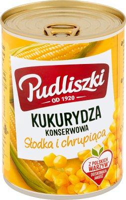 Pudliszki kukurydza konserwowa