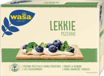light crisp bread wheat