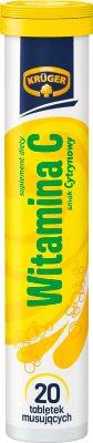 renforcement de comprimés solubles 20 pcs vitamine C
