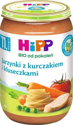 HiPP Jarzynki z kurczakiem i kluseczkami BIO