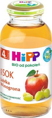 HiPP BIO Sok 100% jabłka-winogrona po 4. miesiącu 0,2 l