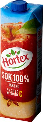 Hortex sok owocowy 100%  jabłkowy