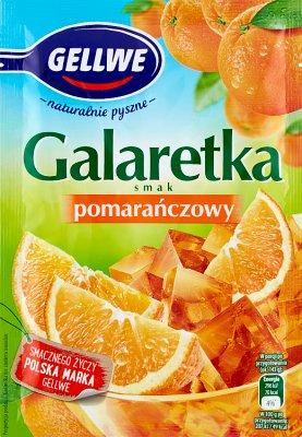 Gellwe galaretka  pomarańczowa