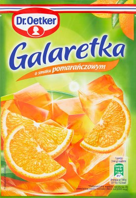Dr.Oetker galaretka  pomarańczowa