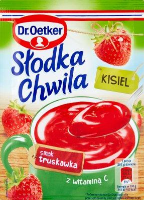 Dr.Oetker Słodka Chwila, kisiel truskawkowy