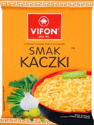 Vifon zupa błyskawiczna w proszku kaczka łagodna