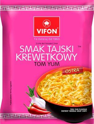 Vifon zupa błyskawiczna w proszku krewetkowa tajska ostra
