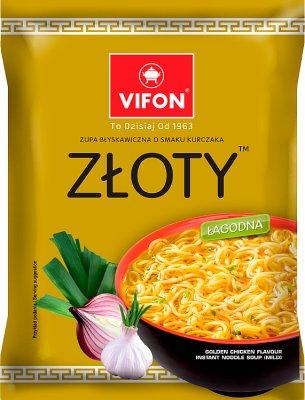 Vifon zupa błyskawiczna w proszku kurczak złoty łagodna