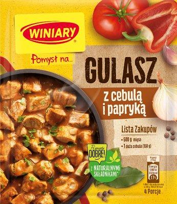 Winiary sos w proszku Pomysł na... gulasz