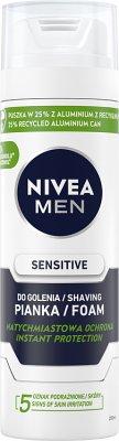 Nivea pianka do golenia  sensitive