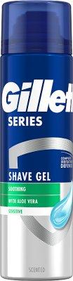 Gillette Series żel do golenia pure&sensitive - bezzapachowy i bezbarwny