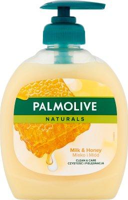 Palmolive mydło w płynie z pompką mleko i miód