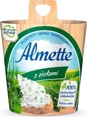 , Almette cremige Käse mit Kräutern