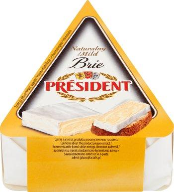 President Brie ser pleśniowy naturalny