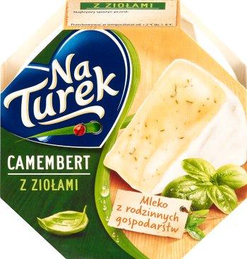 Turek Camembert ser pleśniowy z ziołami