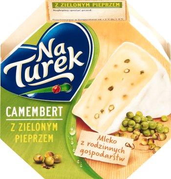 Turek Camembert ser pleśniowy z zielonym pieprzem