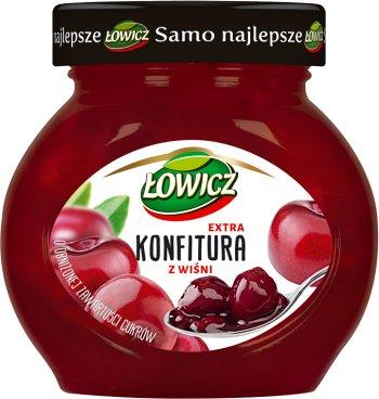 mermelada de cerezas bajo en azúcar