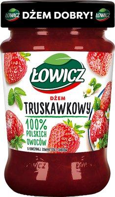 Łowicz dżem niskosłodzony truskawkowy