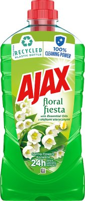 universal fluid to clean all surfaces 1 liter Floral Fiesta - spring bouquet