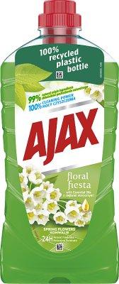 Ajax uniwersalny płyn do czyszczenia wszystkich powierzchni 1 litr Floral FIesta - wiosenny bukiet