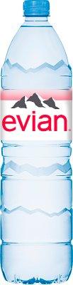 Evian woda mineralna niegazowana
