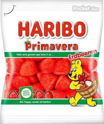 Haribo żelki  Primavera truskawkowe
