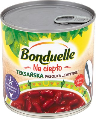 beans , canned red sauce ceyenne