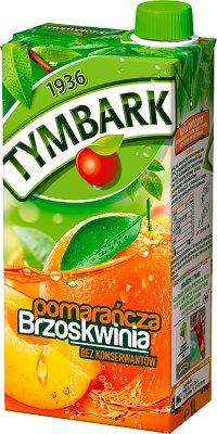 Tymbark napój pomarańczowo-brzoskwiniowy